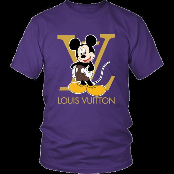 Louis Vuitton Mickey Mouse Unisex Shirt