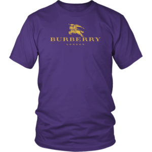 Burberry Gold Edition Logo Unisex Shirt