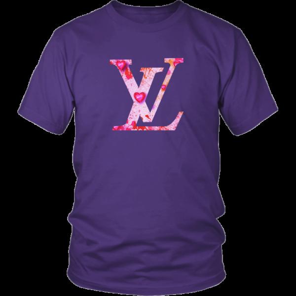 Louis Vuitton Love Logo Unisex Shirt