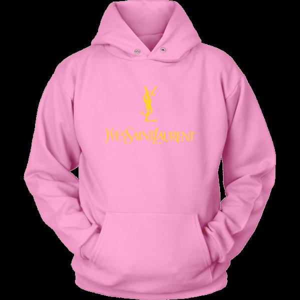YSL Yves Saint Laurent Logo Unisex Hoodie