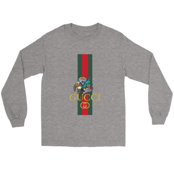 Gucci Tiger Rugby Logo Premium Long Sleeve Tee