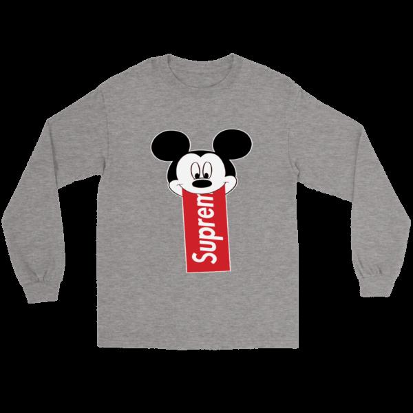 Supreme Mickey Mouse Disney Long Sleeve Tee