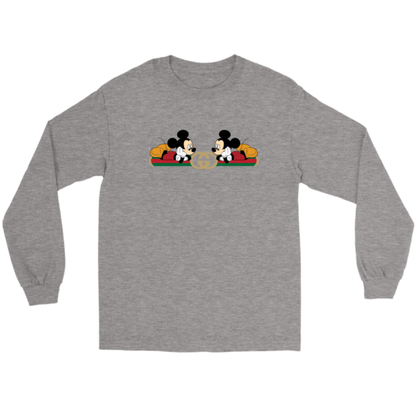 Gucci Mickey Mouse Limited Edition Long Sleeve Tee