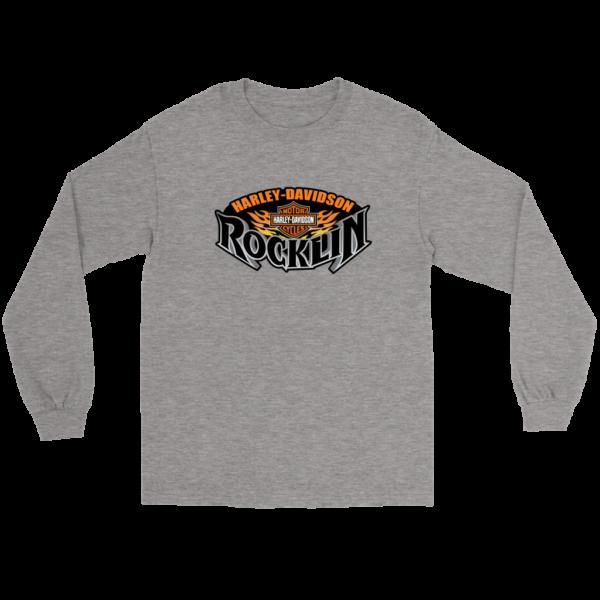 Harley Davidson Of Rocklin Long Sleeve Tee