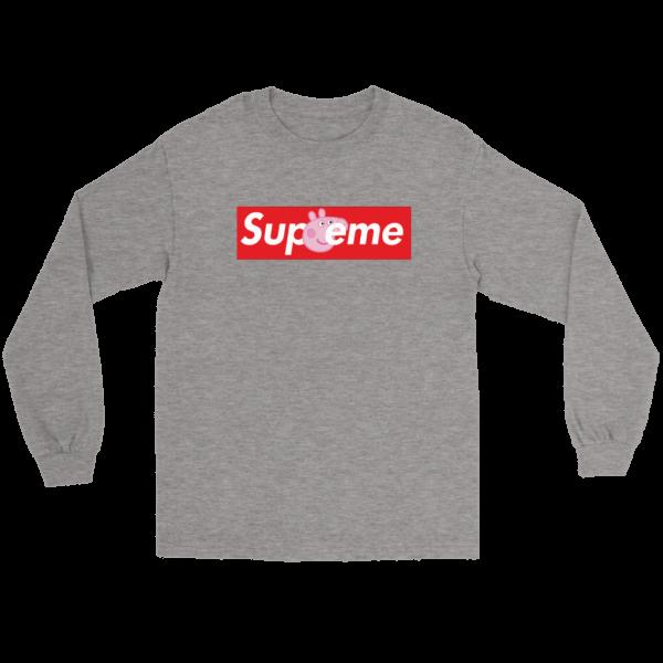 Supreme Peppa Pig Long Sleeve Tee