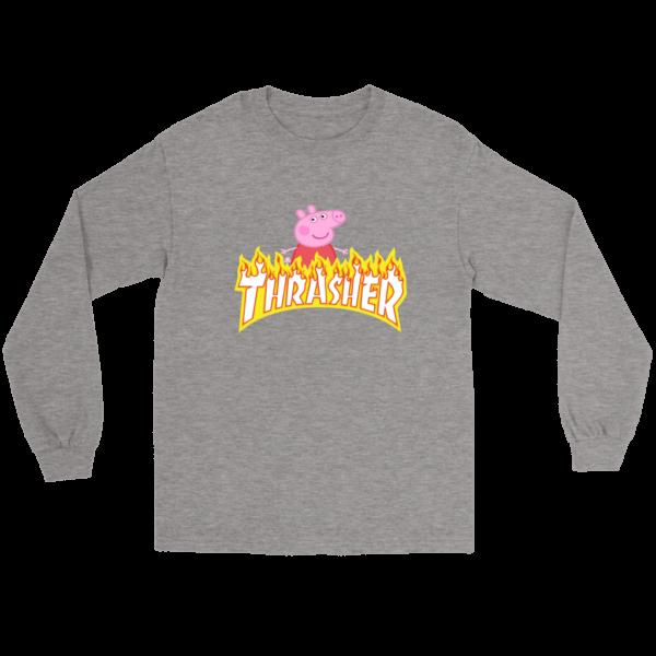 Peppa Pig Thrasher Premium Long Sleeve Tee