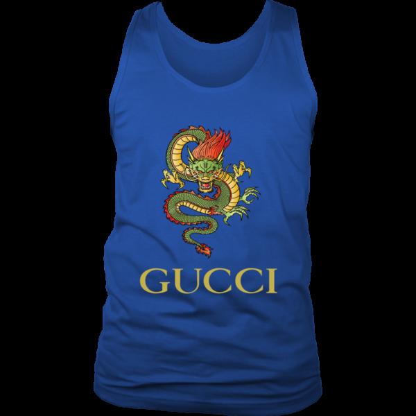 Gucci Dragon  Editon Mens Tank Top