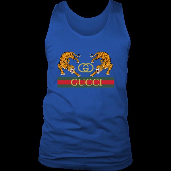 Gucci Strength Jaguar Mens Tank Top
