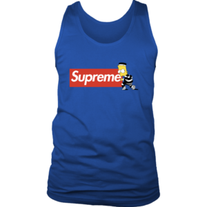 Bart Simpson Supreme Mens Tank Top