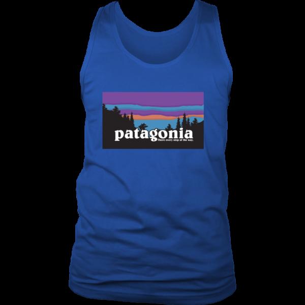 Patagonia Logo New Design Mens Tank Top