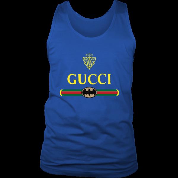 Gucci Logo With Batman Mens Tank Top