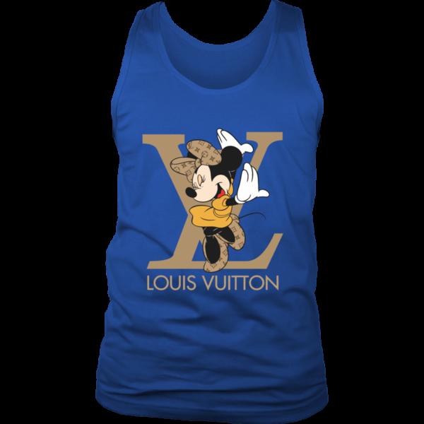 Minnie Mouse Louis Vuitton Edition Mens Tank Top