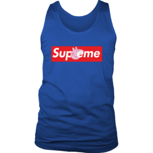 Supreme Peppa Pig Mens Tank Top