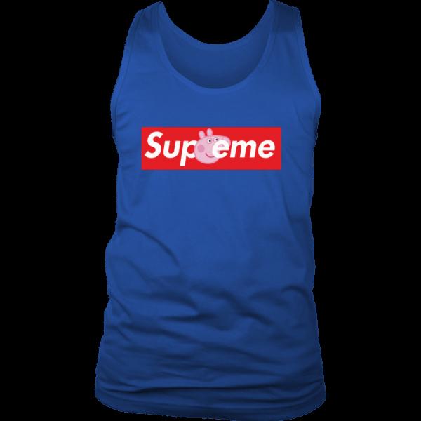 Supreme Peppa Pig Mens Tank Top