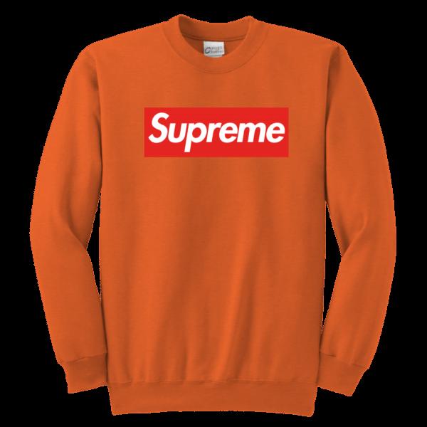 Supreme Box Logo Youth Crewneck Sweatshirt