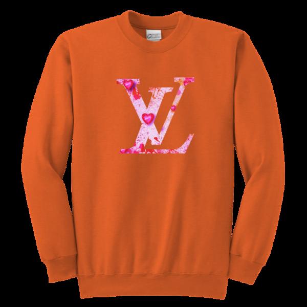 Louis Vuitton Love Logo Youth Crewneck Sweatshirt