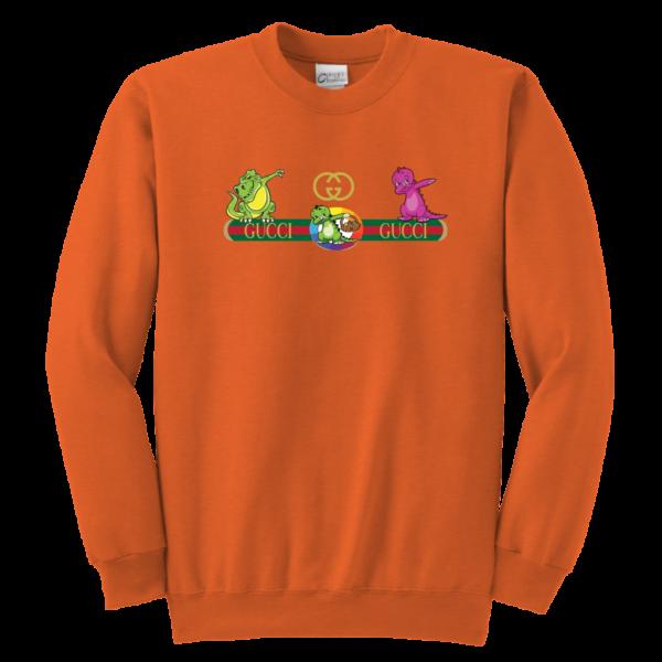 Dabbing Gucci Dinosaur Youth Crewneck Sweatshirt