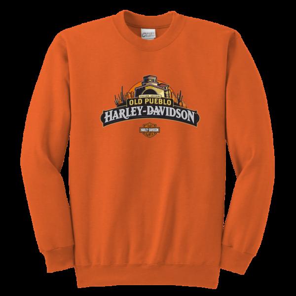 Old Pueblo Harley Davidson Youth Crewneck Sweatshirt