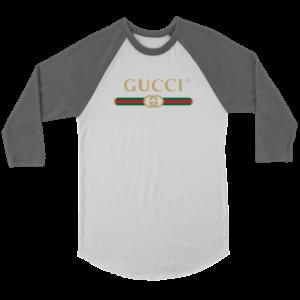 Gucci Logo 2021 Premium Unisex 3/4 Raglan