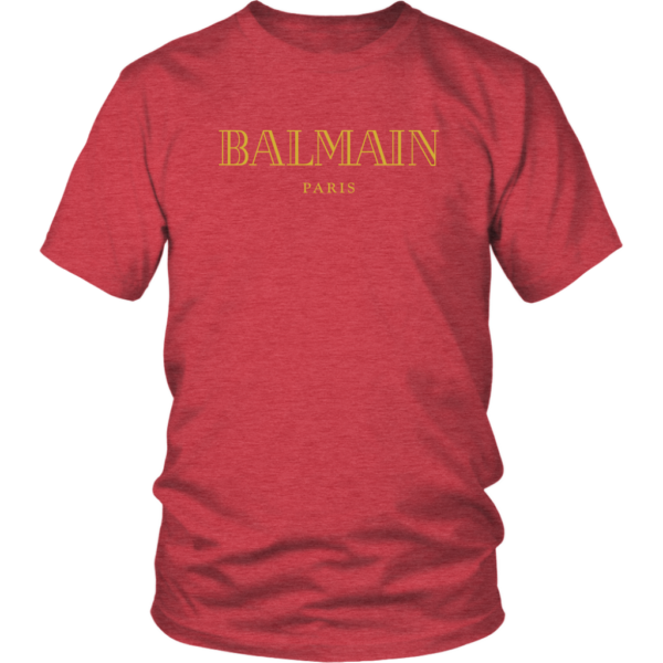 Balmain Gold Logo Unisex Shirt