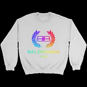 Balenciaga Logo Premium Crewneck Sweatshirt
