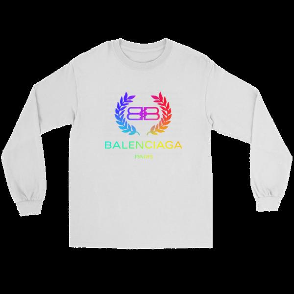 Balenciaga Logo Premium Long Sleeve Tee