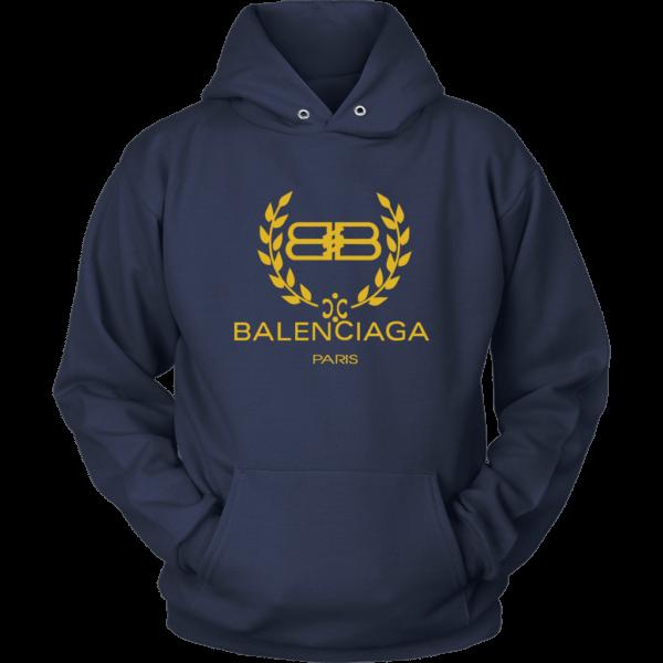 Balenciaga Logo Gold Edition Unisex Hoodie