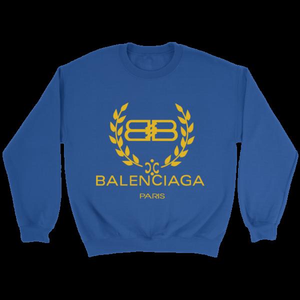 Balenciaga Logo Gold Edition Crewneck Sweatshirt