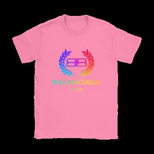 Balenciaga Logo Premium Womens T-Shirt