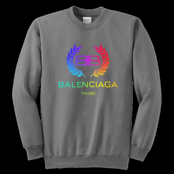 Balenciaga Logo Premium Youth Crewneck Sweatshirt