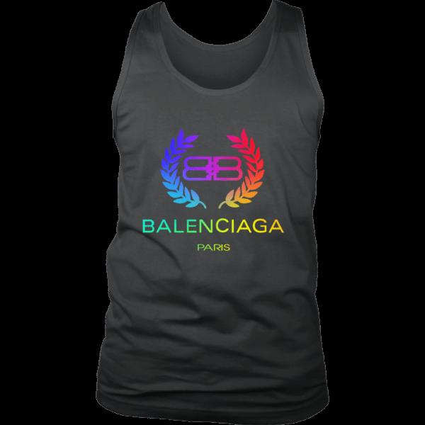 Balenciaga Logo Premium Mens Tank Top