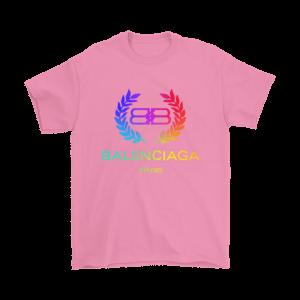 Balenciaga Logo Premium Mens T-Shirt