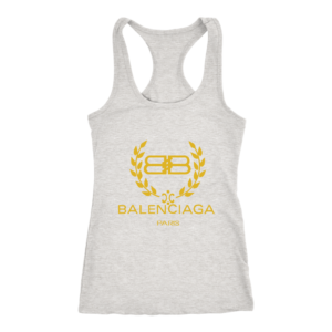 Balenciaga Logo Gold Edition Women's Tank Top