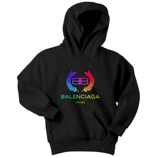 Balenciaga Logo Premium Youth Hoodie