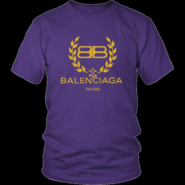 Balenciaga Logo Gold Edition Unisex Shirt