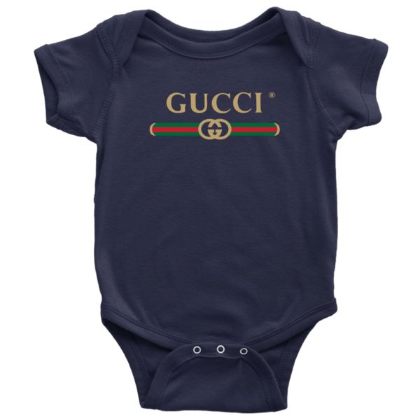 Gucci Logo 2021 Baby Bodysuit