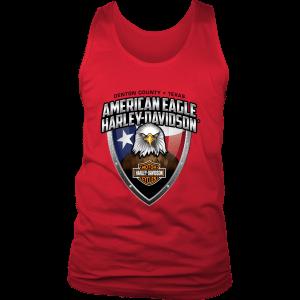 American Eagle Harley Davidson Mens Tank Top