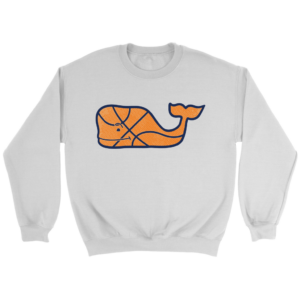 Vineyard Vines Basketball Character Whale Pocket Sweatshirt