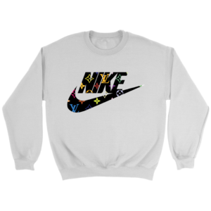 Nike Logo x Louis Vuitton Crewneck Sweatshirt