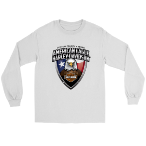 American Eagle Harley Davidson Long Sleeve