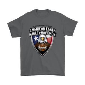American Eagle Harley Davidson Mens T-Shirt