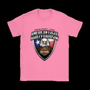 American Eagle Harley Davidson Womens T-Shirt