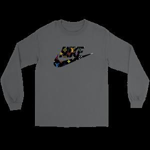 Nike Logo x Louis Vuitton Long Sleeve Tee