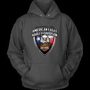 American Eagle Harley Davidson Unisex Hoodie