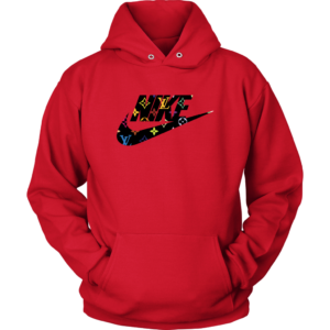 Nike Logo x Louis Vuitton Unisex Hoodie